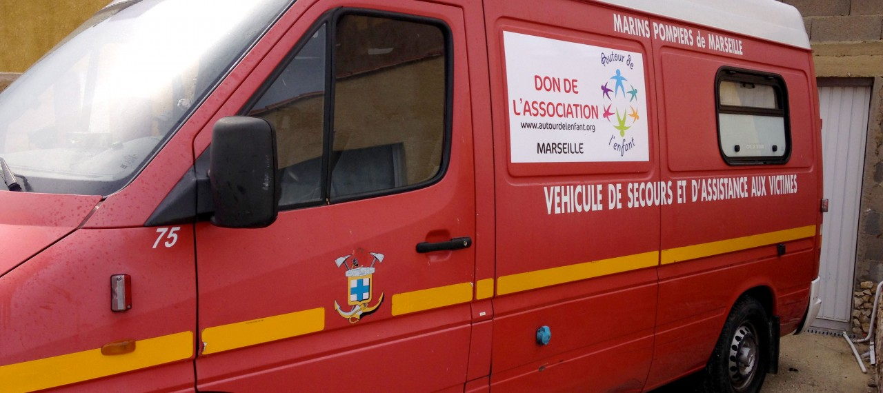 Départ de l'ambulance pour DJIMANDE