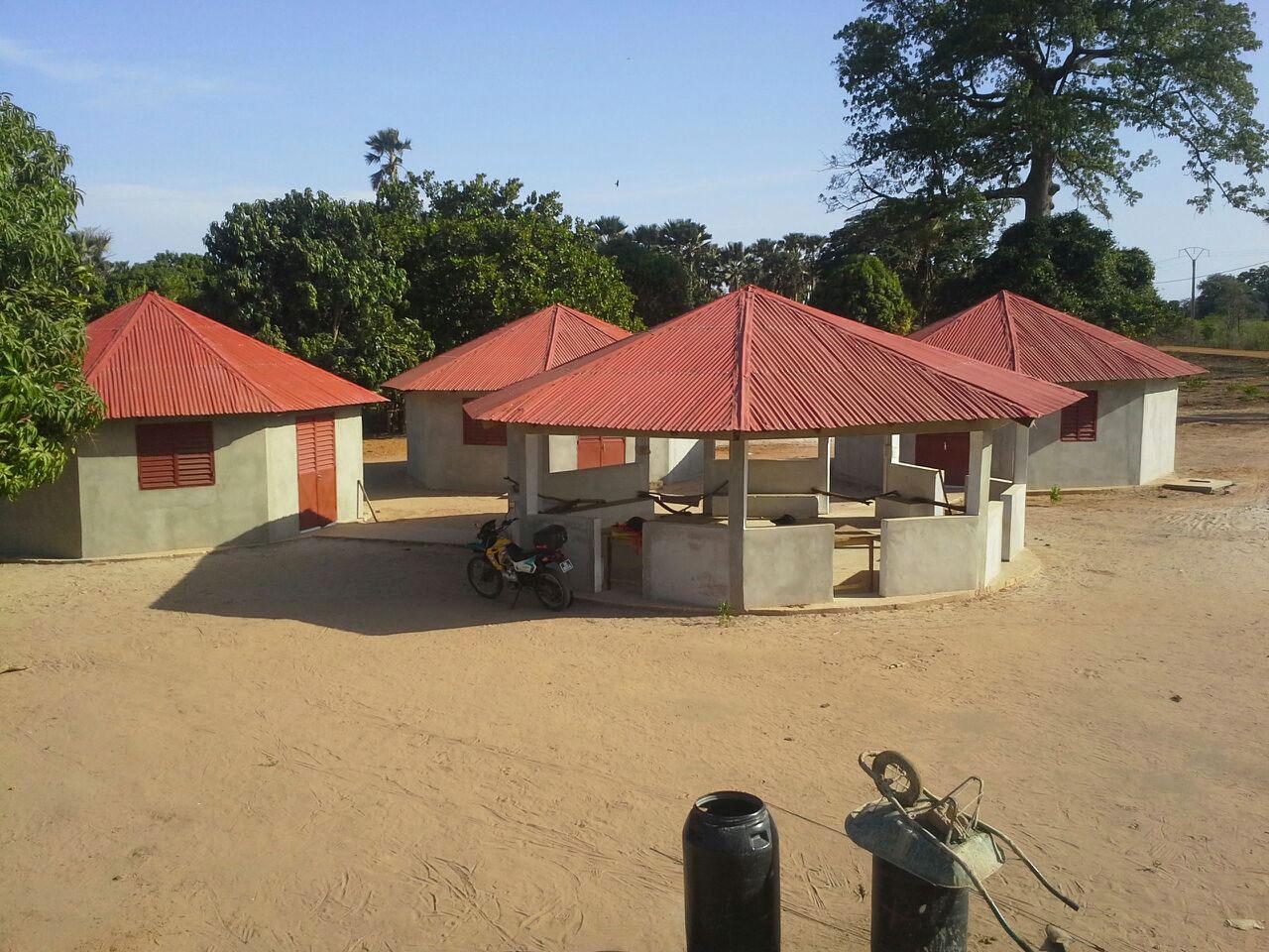 Plan D Une Case Africaine construction d'un centre de santé type, transposable en afrique